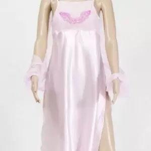 robe longue aile rose de lydie danse