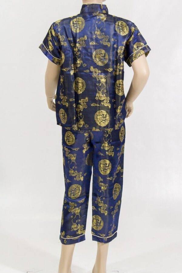ensemble veste et pantalon chinois de lydie danse