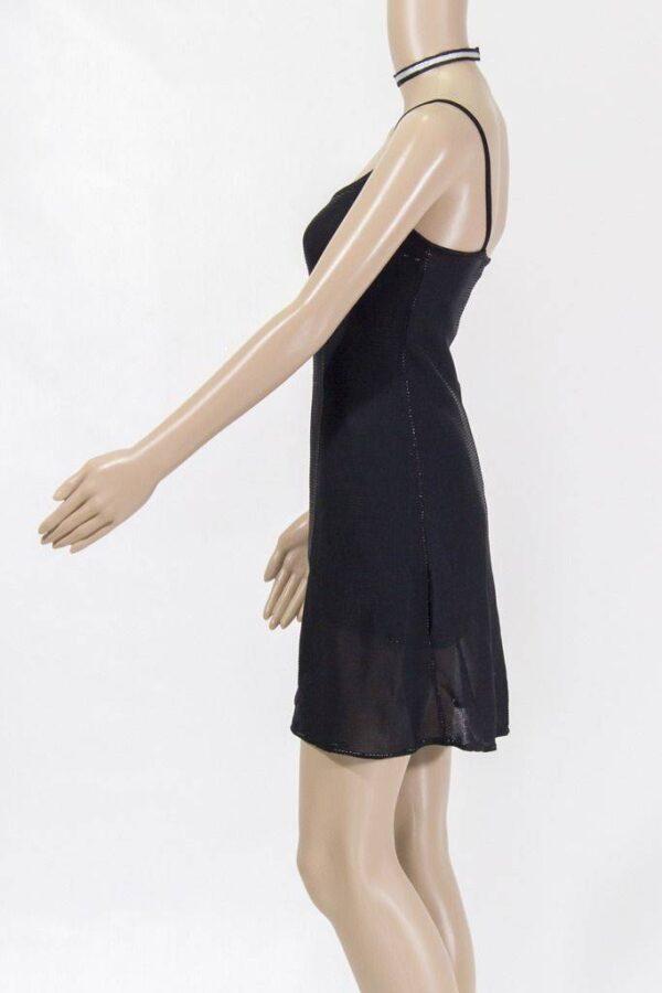 robe courte emilie argent de lydie danse