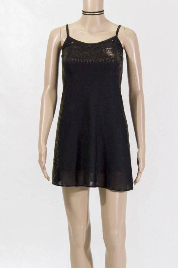 robe courte emilie or de lydie danse