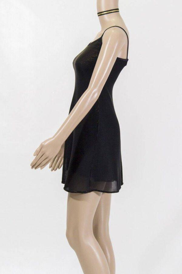 robe courte or emilie de lydie danse