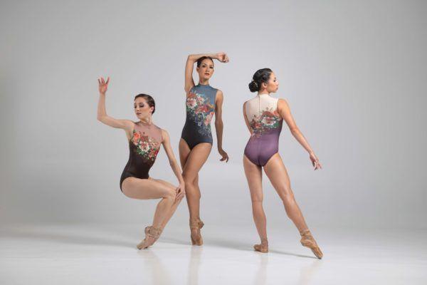 justaucorps romane de la marque ballet rosa