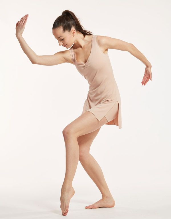 robe violine de la marque temps danse
