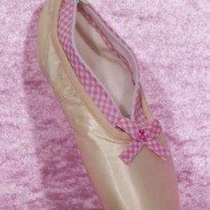 trousse pointe damier rose de la marque lydie danse