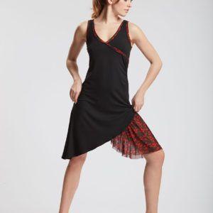robe dalia devant de la marque temps danse