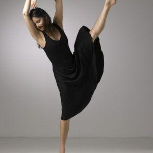 robe devant en viscose de la marque temps danse