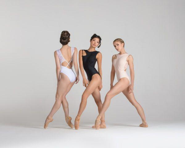 justaucorps Harmonie de ballet rosa