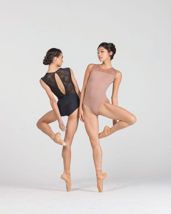 justaucorps rita de ballet rosa