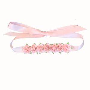 ruban à fleur paloma rose de dance instyle