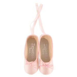 chaussons miniatures les fetiches rose