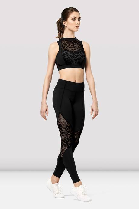 legging ezra noir de bloch